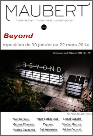 Galerie Maubert - Exposition : Beyond, exposition collective