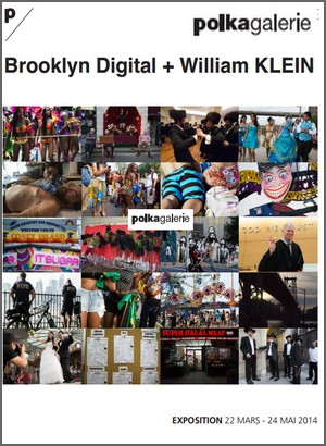 Galerie Polka - Exposition : Brooklyn Digital + William Klein
