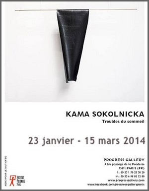 Progress Gallery - Exposition : Kama Sokolnicka, Troubles du sommeil