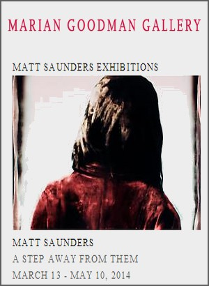 Marian Goodman Gallery - Exposition : Matt Saunders, A step away from them
