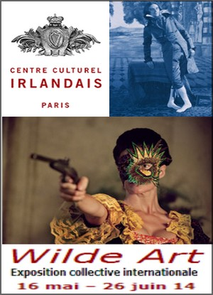 Centre Culturel Irlandais - Exposition : Wilde Art, Exposition collective internationale
