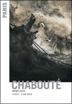 Galerie Huberty-Breyne - Exposition : Christophe Chabouté, Moby Dick
