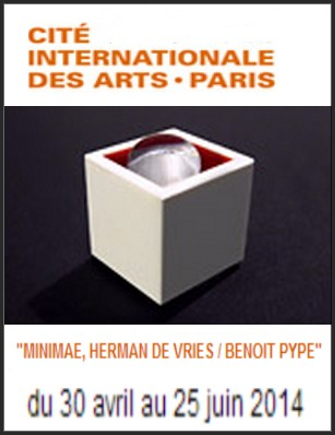 Cité Internationale des Arts - Exposition : Herman de Vries / Benoît Pype, Minimae