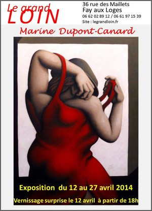 Le Grand Loin, Fay aux Loges - Exposition : Marine Dupont-Canard