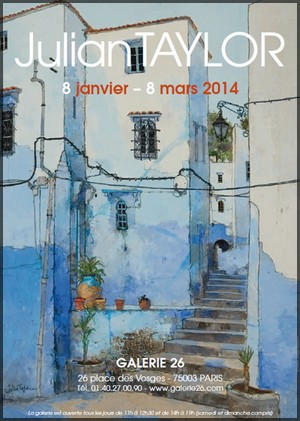 Galerie 26 - Exposition : Julian Taylor