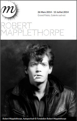 Grand Palais, Galeries Nationales - Exposition : Robert Mapplethorpe