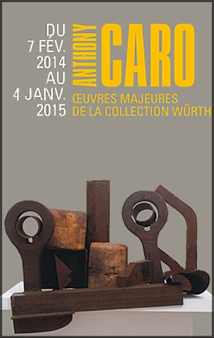 Musée Würth, Ernstein - Exposition : Anthony Caro. Œuvres majeures de la collection Würth