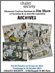 Chalet Society - Jim Shaw, Archives