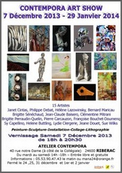 Atelier Contempora, Riberac - Exposition Contempora Art Show