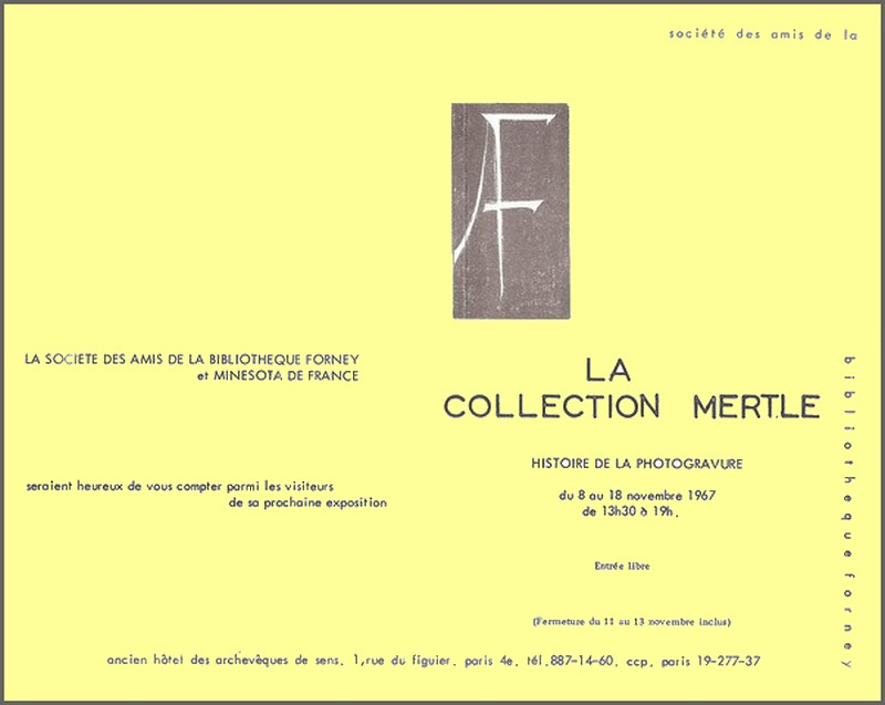 Exposition Collection Mertle (Photogravure)