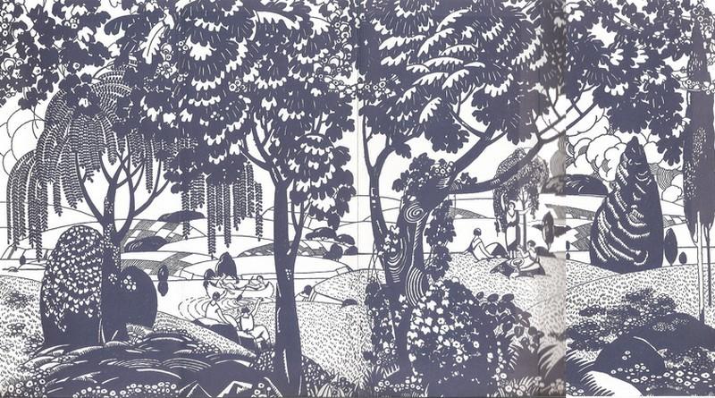 exposition les ballets su dois et l 39 art d coratif des ann es 1920 1925 5 novembre au 12. Black Bedroom Furniture Sets. Home Design Ideas
