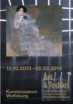 Arts & textiles : Fabric as Material and Concept in Modern Art from Klimt to the Present