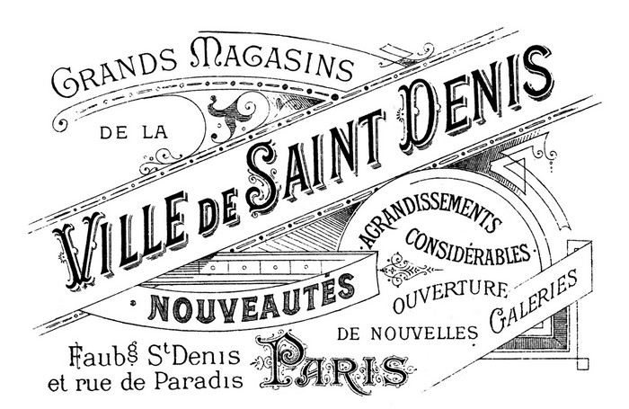 Ephemera Saint-Denis